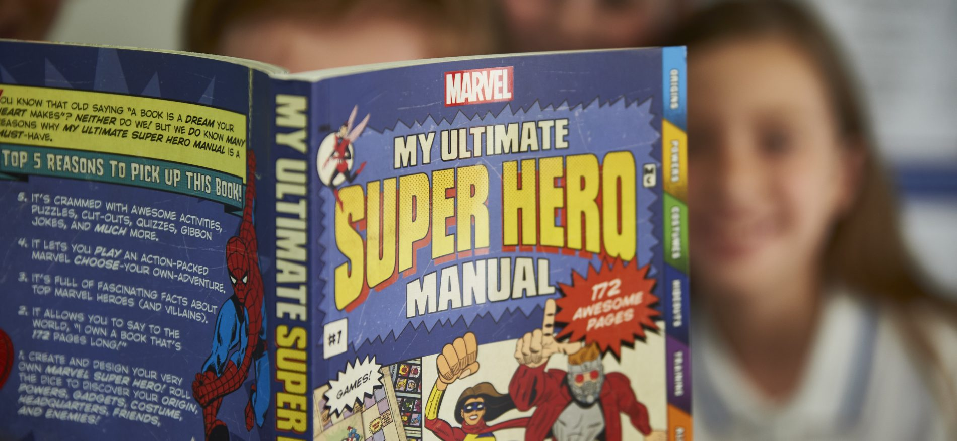 Super Hero Book
